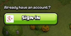 Sign In to an Existing Clash of Clans Account